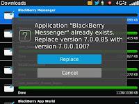 Installation BBM v7.0.0.100 BETA