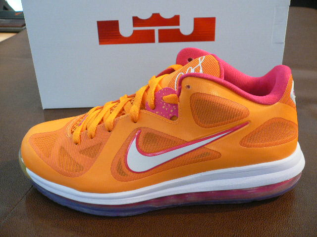 new arrival 233d6 34aef LeBron 9 Low 8220Floridians8221 With a Special Lionhead Outsole .
