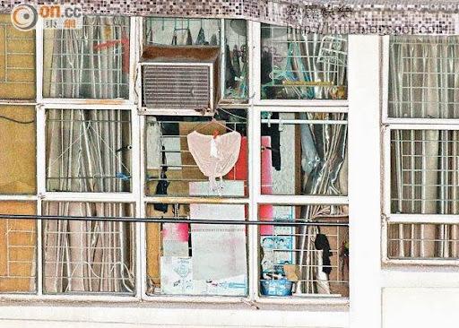 姓李老婦所住的廣雅樓單位疑作為非法墮胎「黑診所」。
