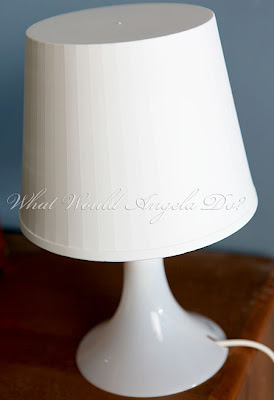 What Would Angela Do?: A Lamp with just the right amount of girly!