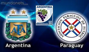 Argentina Paraguay vivo online SUb20 11 Enero