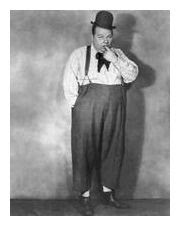 Актёр немого кино Роско «Толстяк» Арбакл, примерно 1920г. © Mitchell/Hulton Archive/Getty Images