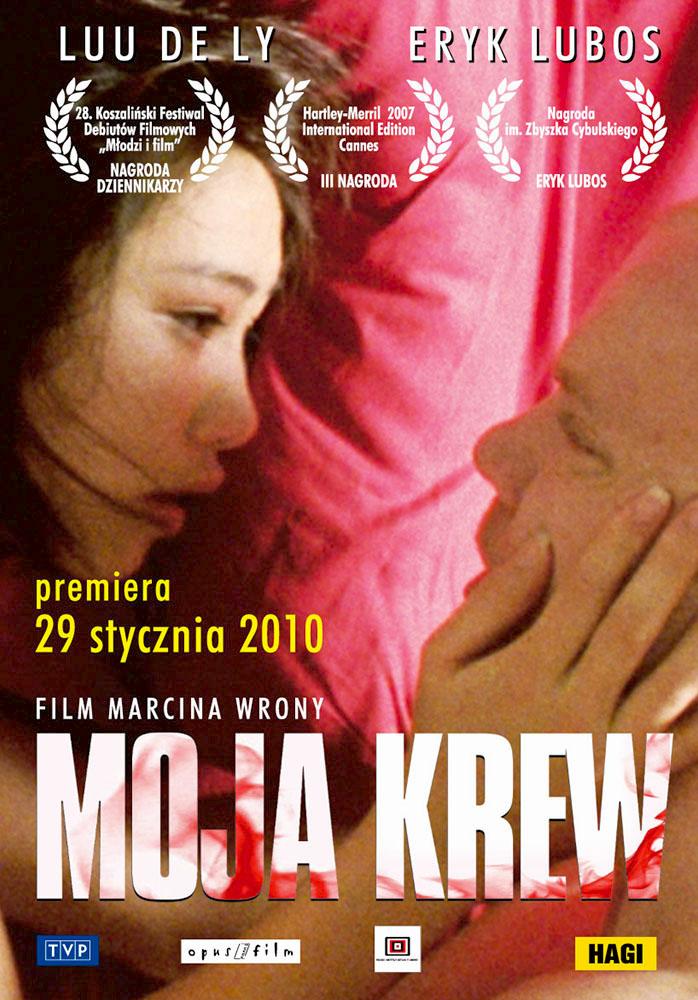 Ulotka filmu 'Moja Krew (przód)'