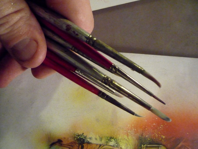 Brushes © 2012 Jeff Lafferty