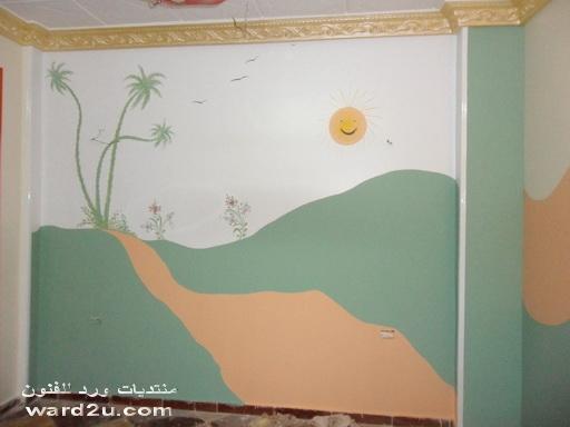 رسومات خفيفه فى غرف الاطفال