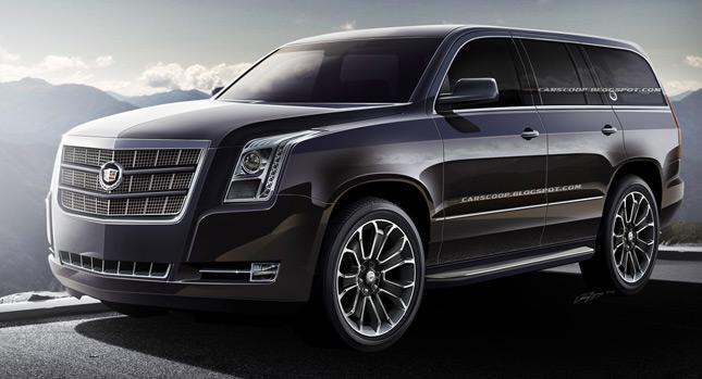 Future Cars: GM's Upcoming 2014 Cadillac Escalade Luxury SUV