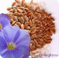 очищение кишечника льняным семенем