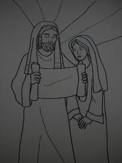 San José Páginas Para Colorear Para Niños Profesorado De Religión