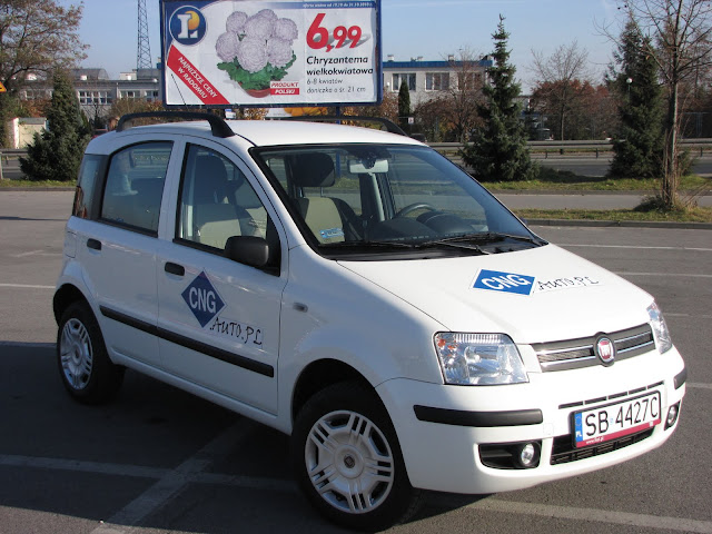 Fiat Panda Natural Power (CNG)