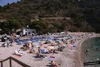 vista de la playa de la Granadella