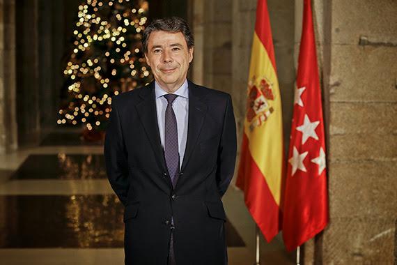 Mensaje de Año Nuevo del Presidente de la Comunidad de Madrid, Ignacio González