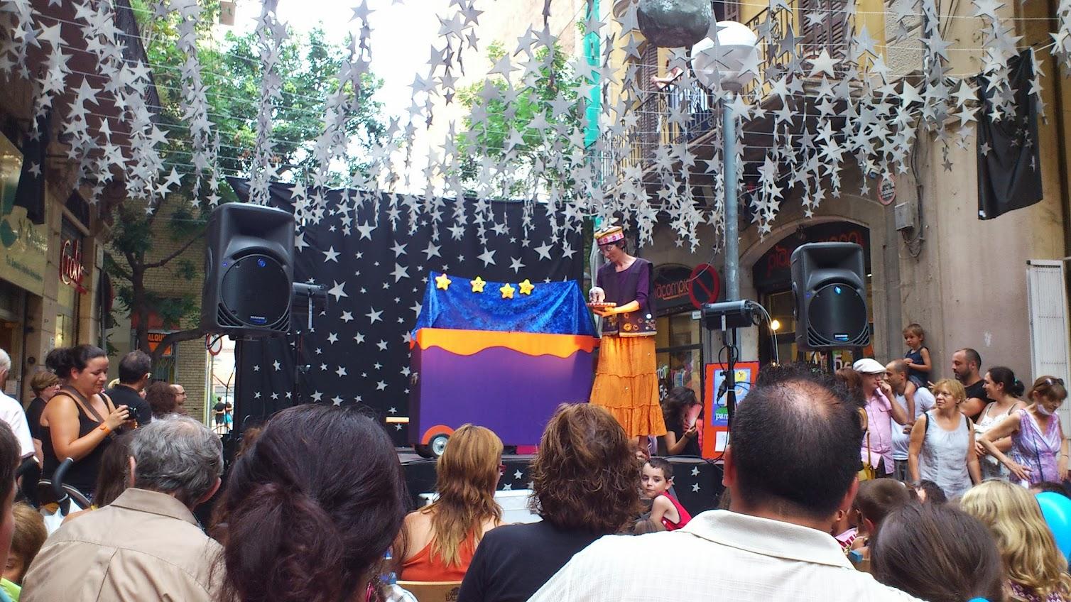 Pamipipa a les festes de Gràcia
