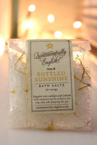 Quintisentially english bath salts