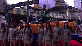 The Dictator rolls into London for premiere