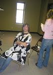 Keith gets his hair cut