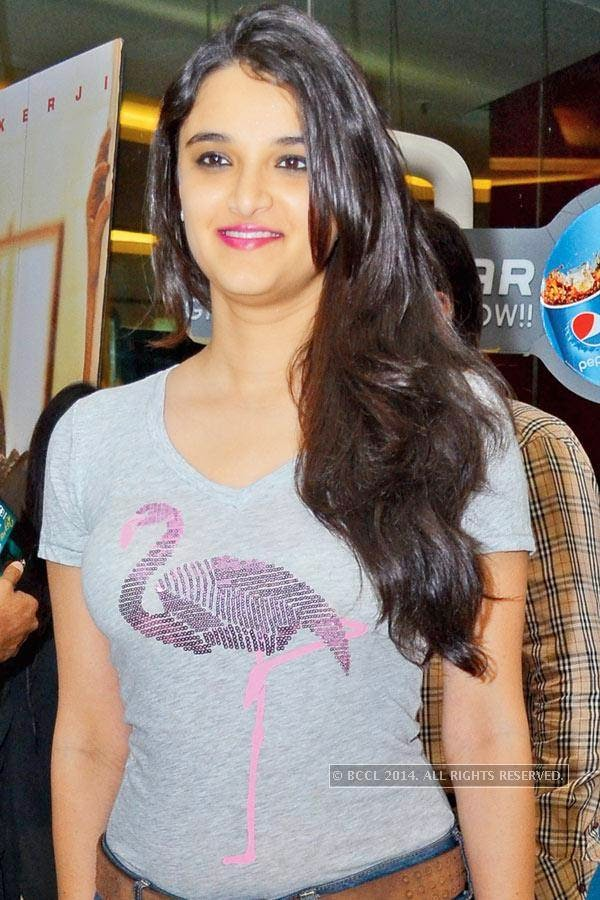 Rasika during the screening of Salman Khan's latest film Kick, at a city multiplex.
