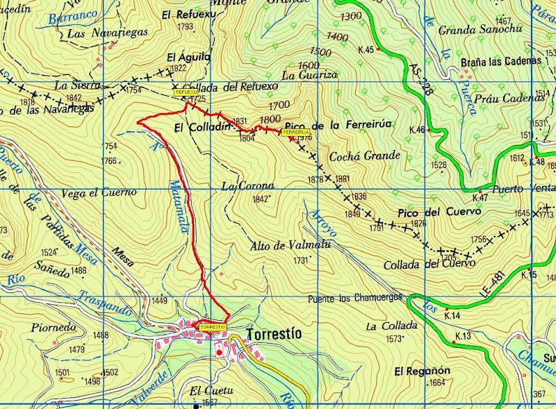 mapa ferreirua