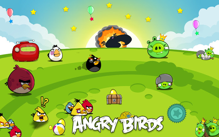 Hình nền về những chú chim điên trong Angry Birds - Ảnh 15