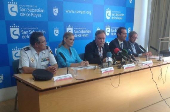 La delincuencia en San Sebastián de los Reyes disminuye el 5,3% en 2014