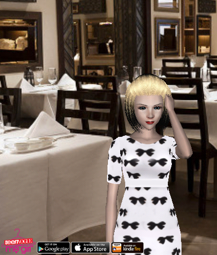 Teen Vogue Me Girl Level 63 - Holiday Dinner Party - Zoey - Snapshot