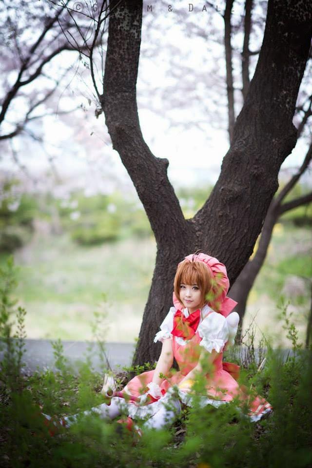 Tomia cực dễ thương với cosplay Sakura - Ảnh 14