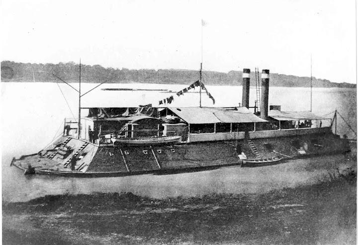The first USS Cincinnati.