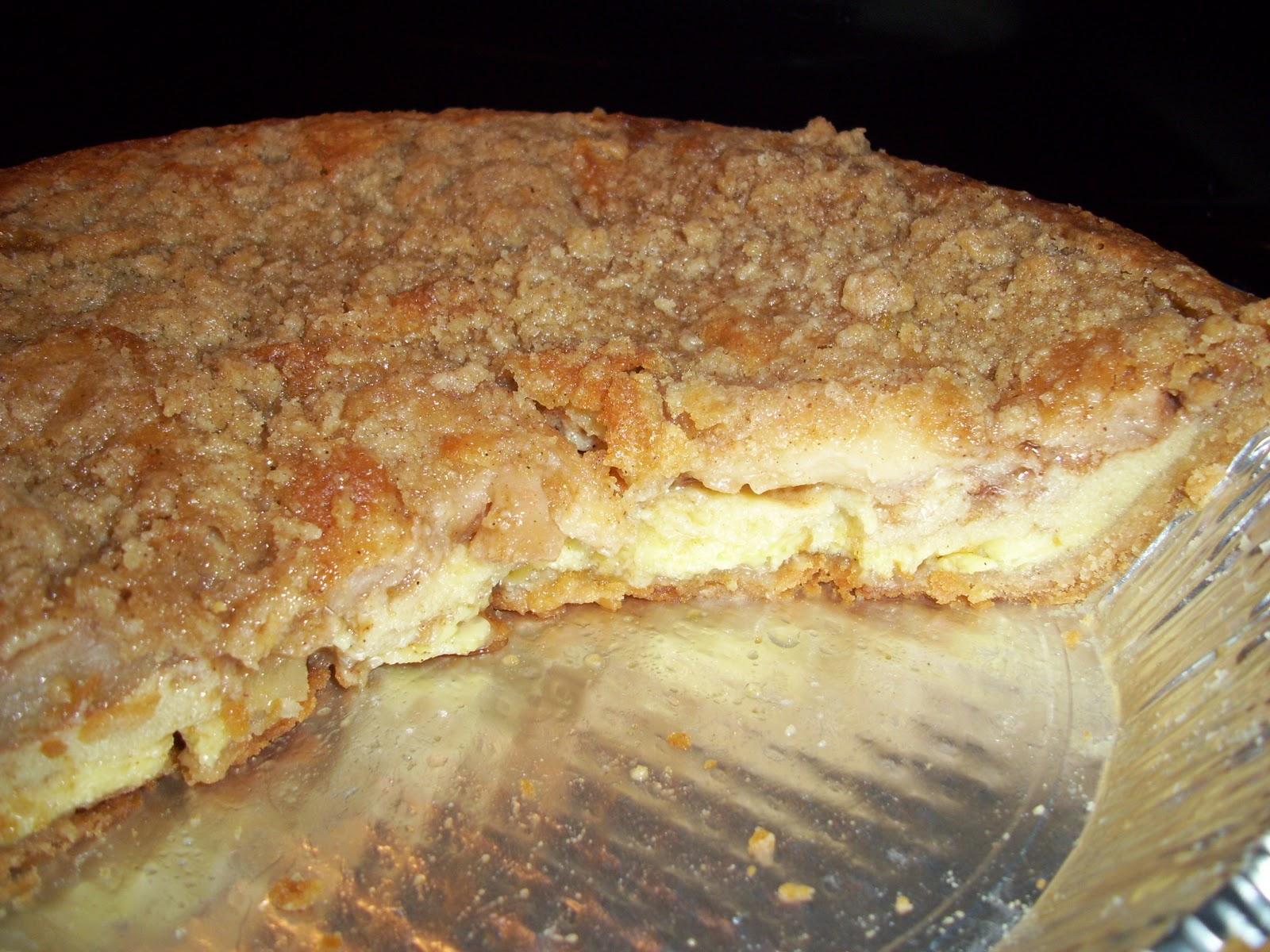 Adventures in My Kitchen: Warm Apple Buttermilk Custard Pie