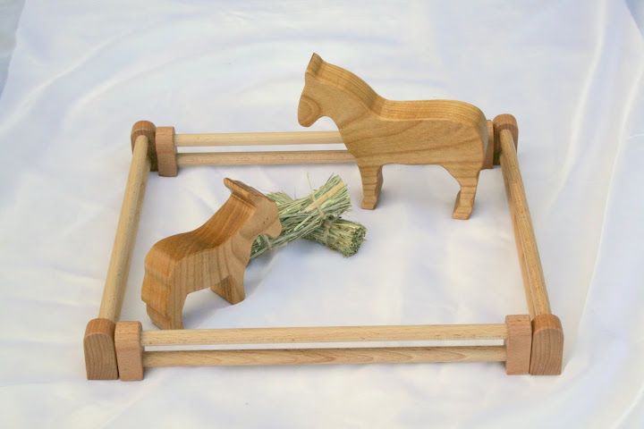 Wooden Toy Farm Set