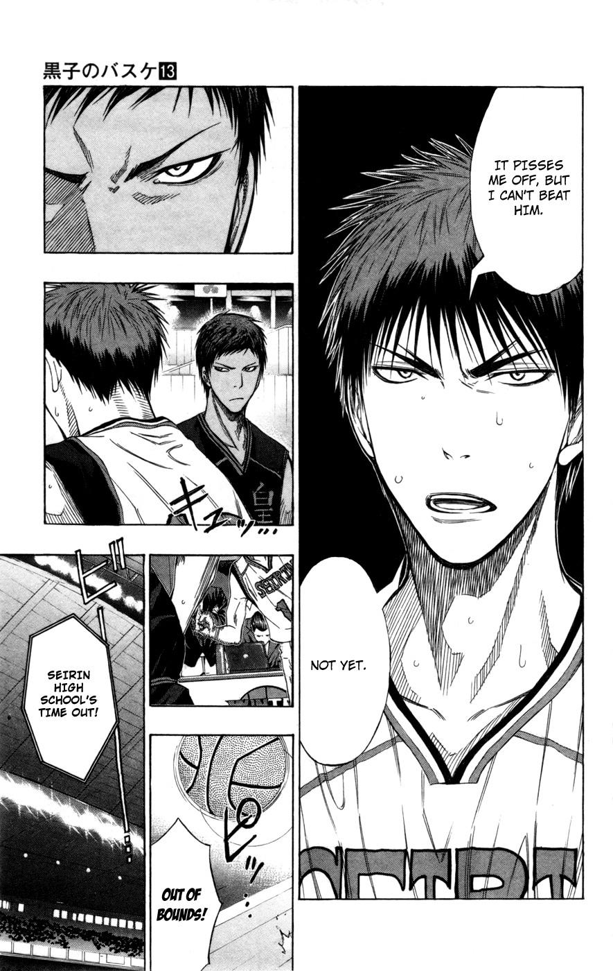 Kuroko no Basket Manga Chapter 117 - Image 3_177