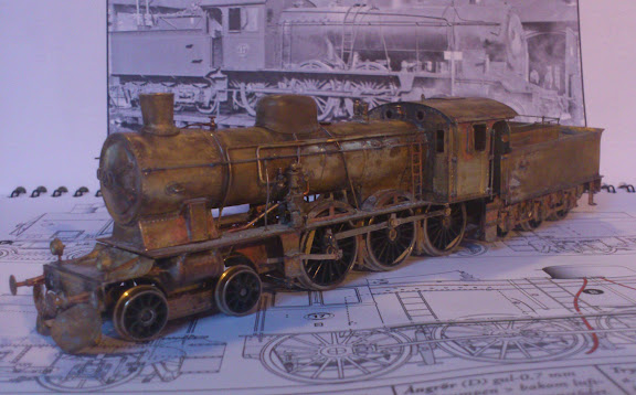 Kit built brass loco  - Model Railroader Magazine - Model
