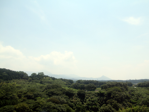 九州産交バス「やまびこ号」 車窓 その2