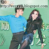栢芝日前曾在內地宣傳跳舞節目,未知會否與阿Sa比賽。