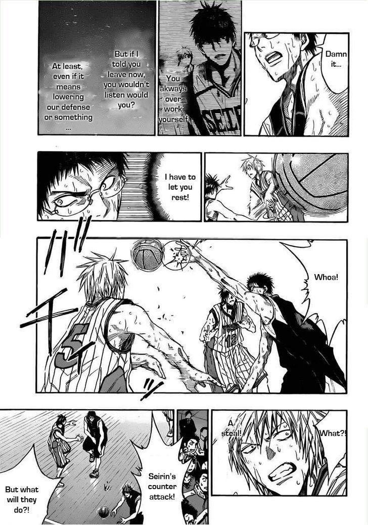 Kuroko no Basket Manga Chapter 155 - Image 05