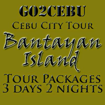 Cebu City + Bantayan Island Hopping in Cebu Tour Itinerary 3 Days 2 Nights Package