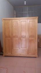 Tủ quần áo gỗ MS-201