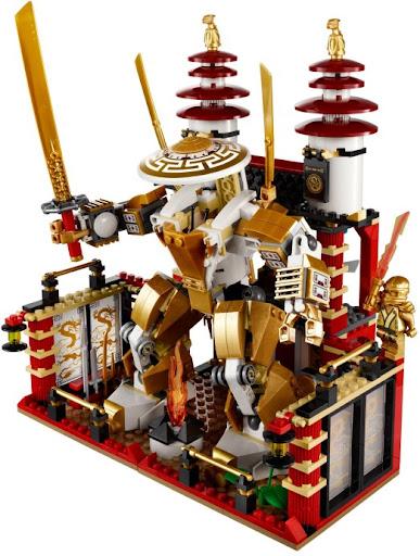 70505 レゴ 天空の黄金神殿(ニンジャゴー)