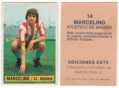 At. Madrid - Ediciones ESTE 74/75 Marcelino (Fichaje)