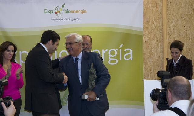 Entrega Premio FOMENTA LA BIOENERGIA a la Agencia Andaluza de la Energía