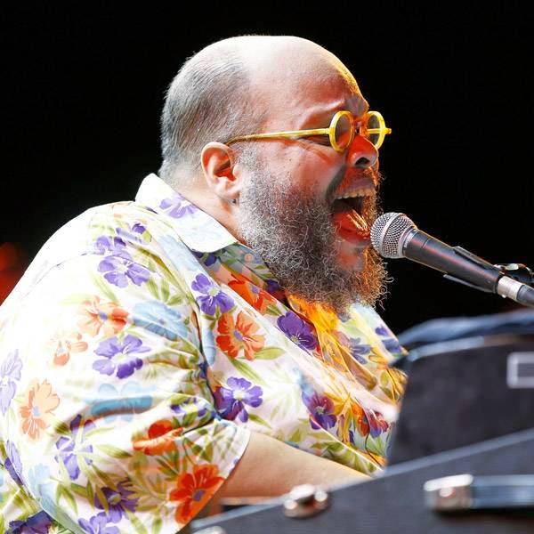 Brazilian singer and composer Ed Motta performs on stage during the Nice Jazz Festival on July 12, 2014 in Nice, southeastern France.