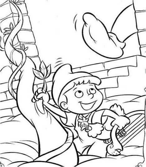 Cuentos infantiles: Jack y las habichuelas Mágicas. Dibujos para ...