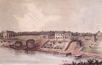 View of Horace-ville on the Ottawa River. 1850