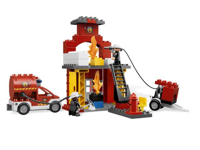 レゴ デュプロ しょうぼうしょ 6168