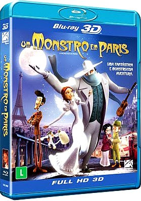 Filme Poster Um Monstro em Paris BDRip XviD Dual Audio & RMVB Dublado