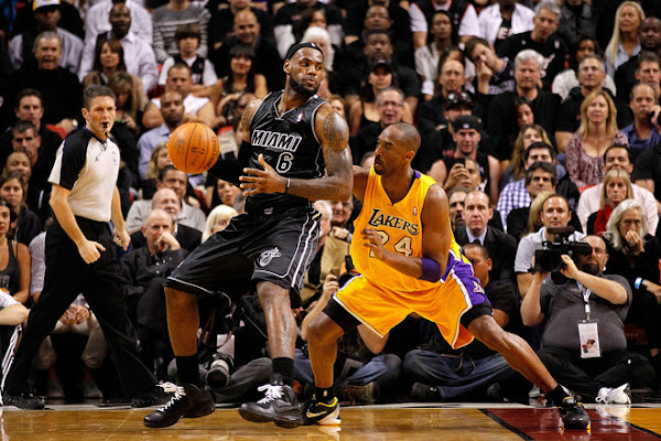 Miami Heat Goes 8220Black in Black8221 and Beat Kobe and the Lakers