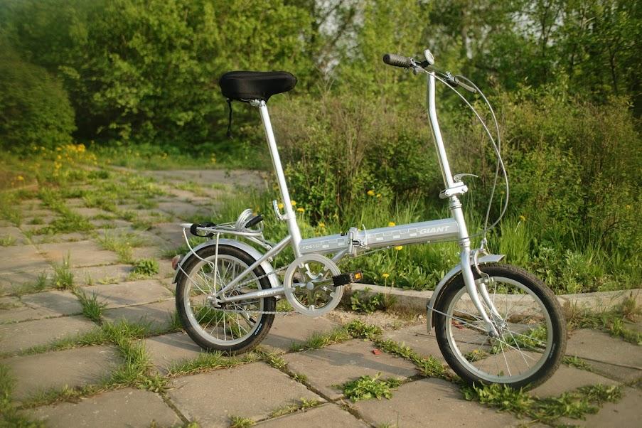 Фотограф Кирилл Кузьмин: складной велосипед Giant FD610 отзыв