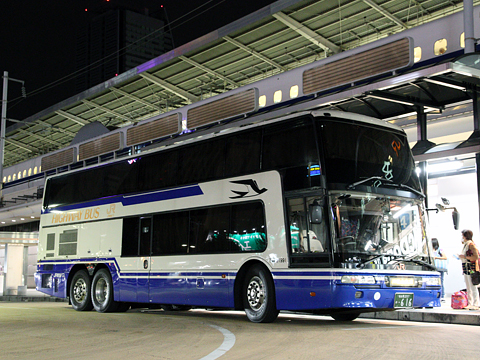JR東海バス「オリーブ松山号」 744-01991 JR名古屋駅改札中 その1
