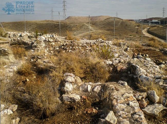 Restos del poblado Carpetano de la Gavia. Distrito de Vallecas.
