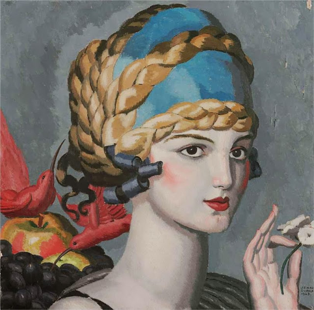 Jean Dupas - Pomone (Mlle Marguerite Grain)