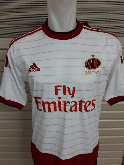 Jersey AC Milan Away Official 2014-2015