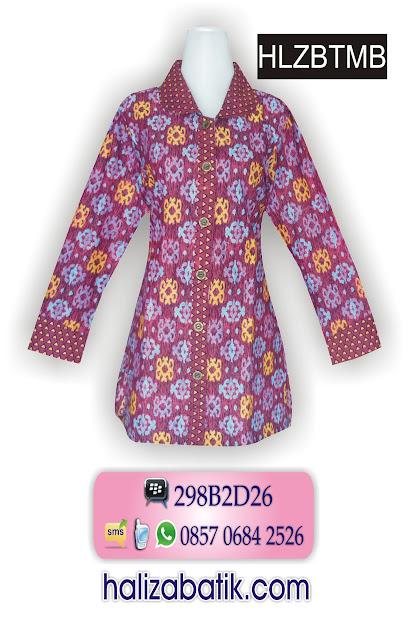 grosir batik pekalongan, Baju Batik Seragam, Batik Busana Muslim, Model Batik